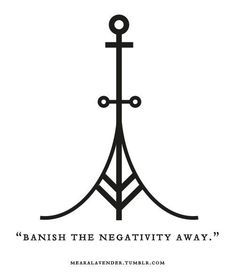 """mearalavender: """" """"Banish the negativity away. May this sigil be in your favour. ♥ Feel free to use it, but please don't post it as your own. """" symbols witchcraft Witch Of Nature Wiccan Symbols, Magic Symbols, Ancient Symbols, Egyptian Symbols, Celtic Symbols, Viking Symbols And Meanings, Wiccan Tattoos, Viking Tattoos, Tattoo Symbols"""