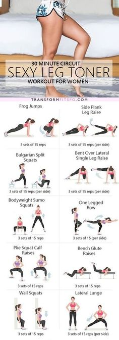 Repin and share if you enjoyed this sexy leg toner lower body circuit!
