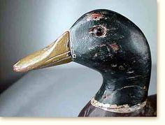 vintage duck decoys