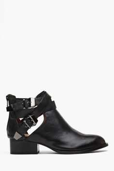 Jeffrey Campbell Everly Cutout Boot - perfect fall staple boot