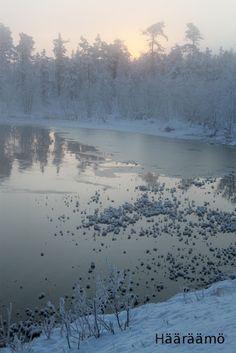 Muonio, Lapland, Finland www. Norway Sweden Finland, Lapland Finland, Winter Light, Winter Snow, Snow Scenes, Winter Scenes, Lappland, Winter Magic, Snowy Day