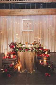 35 Gorgeous Wedding Decorations Ideas On A Budget - Home decor - Winter Wedding Receptions, Winter Wedding Decorations, Wedding Table Centerpieces, Wedding Venues, Reception Ideas, Winter Weddings, Wedding Tables, Centerpiece Ideas, Decor Wedding