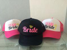 Team bride caps