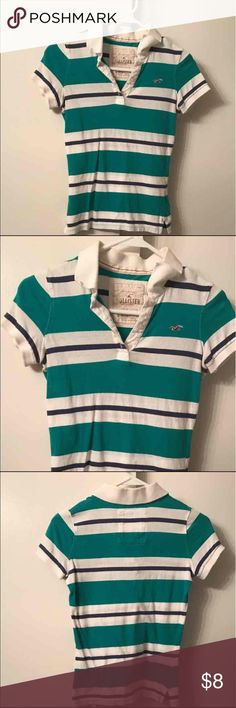Selling this Hollister Polo on Poshmark! My username is: areade612. #shopmycloset #poshmark #fashion #shopping #style #forsale #Hollister #Tops