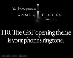 Game of Thrones. If you hear you have my permission to start bad mouthing the Boltons.