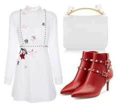 """Untitled #3278"" by evalentina92 ❤ liked on Polyvore featuring Marni, Giamba and Valentino"