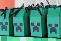 Como Fazer Decoração Festa de Aniversário Tema Minecraft Minecraft Party Decorations, Best Part Of Me, Birthday Parties, Toys, Mini, Crafts, Inspiration, Scrap, Silhouette