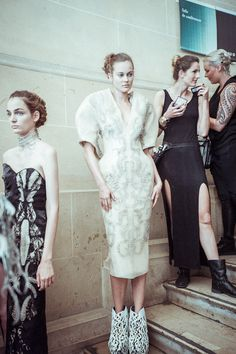 Backstage details   Wilderness Embodied Haute Couture IvH
