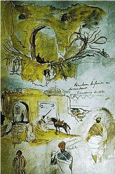 Eugene Delacroix - The Moroccan Sketchbook