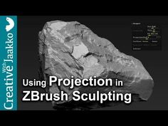 ZRemesher and Projection in ZBrush 4R7 (Transfer highpoly to lowpoly) - YouTube