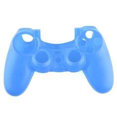 awesome Funda Silicona Protectora para Mando Consola de PS4 Color Azul