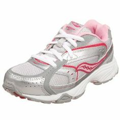 Saucony Baby Cohesion GT Toddler Girls 5 Gray Leather Running Shoes New/Display  Saucony CDN$ 22.09