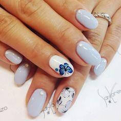 Uñas Azules Decoradas Con Blanco (9) Boxing Day, Nail Art, Nail Designs, Nail Polish, Make Up, Color Celeste, Beauty, Inspiration, Style