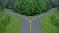 at one time or another, we all come to a fork on the road of our life... which road will you take?