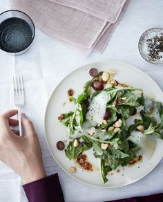 BIOXIDEA advices: Salad is filled with fiber and antioxidant-rich vegetables that will help keep your skin looking fresh and young. Photo: BON APPETIT MAGAZINE | Michael Graydon + Nikole Herriott