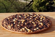 Dr. Oetker Schokoladen-Pizza