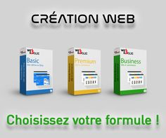 Création Site WEB -formule BASIC -formule PREMIUM -formule BUSINESS