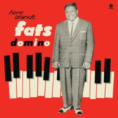 Fats Domino - American rhythm and blues and rock and roll pianist and singer-songwriter. New Vinyl Records, Vinyl Cd, Music Covers, Album Covers, Cd Cover, Cover Art, Old School Music, Vintage Records, Vinyl Cover