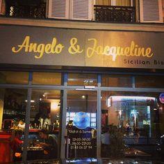 Angelo & Jacqueline à Paris, Île-de-France