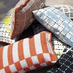 new BANDAS cushions arrived at Oikos
