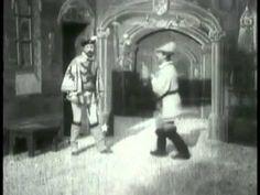 1st Horror and Vampire Movie - The Devil's Castle (1896) [aka Le Manoir du Diable] - Georges Melies