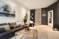 FINN – Holbergs Plass - Lekker og nyoppusset 4-roms selveierleilighet. Meget sentralt og rolig beliggende inn mot indre gård. 2 stuer. Balkong.