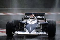 """Nelson Piquet, Brabham-BMW BT52, 1983 Belgian GP, Spa """