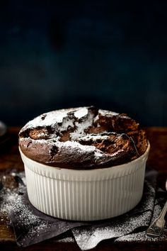 NYT Cooking: Dark and intense in flavor, yet with a light and custardy texture, a chocolate soufflé is an eternal showstopper of a dessert. To get that intense chocolate flavor, this version uses a base of melted butter and chocolate without any starch. Be sure to use excellent bittersweet chocolate, but if you prefer a slightly sweeter soufflé, feel free to substitute milk chocolate for all or part of the ...