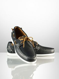 ralph lauren telford tumbled calf boat shoe (i really want the white version of these, but have only seen at the king of prussia store...)