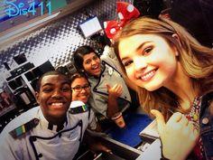 Video: Disney Cast Members Wishing Stefanie Scott A Happy Birthday December 7, 2013