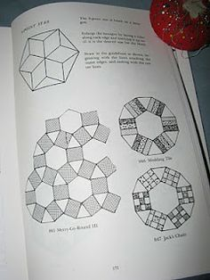 Carpe Lanam: Jack's Chain - the Tutorial Looks like a great tutorial for a Ring Cycle/Jack's Chain/Merry-go-round/Rosalia Flower Garden quilt. (K)