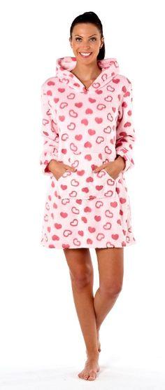 Heart Lounger Nightie Also in White. Nightwear, Size 10, Lingerie, Heart, How To Wear, Pajamas, Underwear, Corsets, Hearts