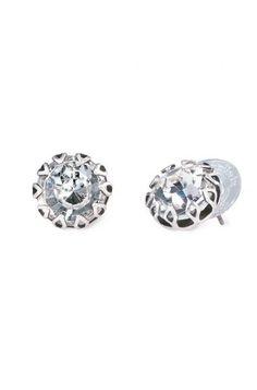Stella and Dot vintage crystal studs #bride