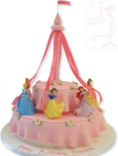 Buy little princess's and add to simple cake