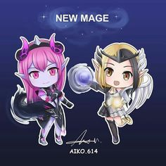 Anime Chibi, Anime Art, Legend Drawing, Anime Angel Girl, The Legend Of Heroes, Mobile Legend Wallpaper, Mobile Legends, Kawaii Anime Girl, Mobile Game