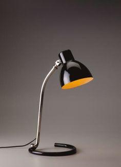 Heinrich Siegfried Bormann, Kandem table lamp, 1932. Körting...