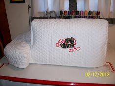 Looking for embroidery project inspiration? Check out embroidery machine cover by member adewitt776008.