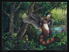 Pandorama par Brenda Lyons - Falcon Lune studio