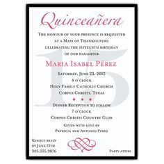 Bilingual Invitations as beautiful invitations layout