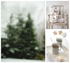 Linen, Lace, & Love: I'm Dreaming of a White Christmas