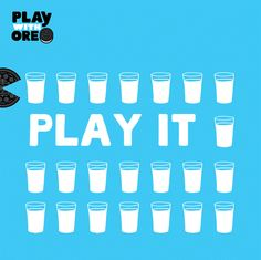 Gobble-Gobble. Gulp-Gulp. That's how you #PlaywithOreo #PlayIt