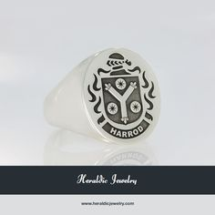 Harrod family crest jewelry