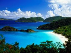 Five exotic places you can go without a U.S. passport  Puerto Rico United States Virgin Islands, St. Thomas, St. Croix, and St. John—plus a scattering of smaller isles Northern Mariana Islands Guam American Samoa,  a collection of five volcanic islands and two atolls between Fiji and the Cook Islands