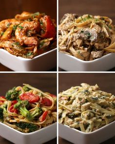 These Four Recipes For Fettuccine Will Have You Drooling All Over