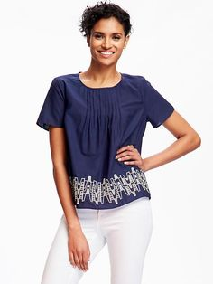 Cut-Out Swing Blouse  Product Image