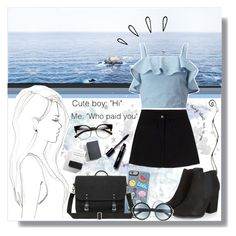 """""""Pacific Ocean"""" by angelstylee ❤ liked on Polyvore featuring Monique Péan, Old Navy, ZeroUV, Tom Ford and Miss Selfridge"""