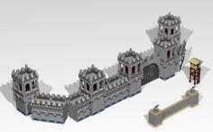 LEGO Ideas - Age of Empires II Lego Burg, Castle Layout, Castle Parts, Lego Knights, Lego Sculptures, Amazing Lego Creations, Lego Activities, Age Of Empires, Lego Castle