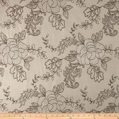 Kaslen Corrigan Jacquard Sand 100% polyester $7.18/y