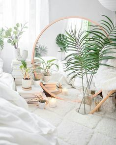 Else Wants to Learn About Interior Design Bedroom Boho Urban Outfitters Home Decor? Bedroom Inspo, Diy Bedroom Decor, Living Room Decor, Home Decor, Home Interior, Interior Design Living Room, White Bedroom Design, Minimal Bedroom, Bedroom Plants