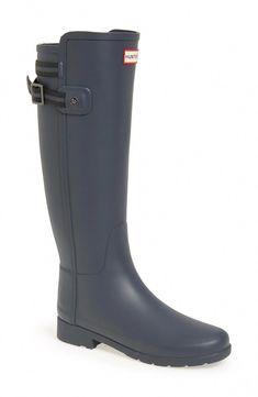 404f3b78517 Hunter  Original Refined  Rain Boot (Women) available at  Nordstrom The  black